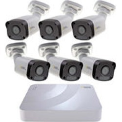 Q-See 5MP HD 8 Channel IP Security System with 2TB Hard Drive and 6 5MP IP Bullet Cameras with Color Night Vision found on Bargain Bro India from Sam's Club for $569.00