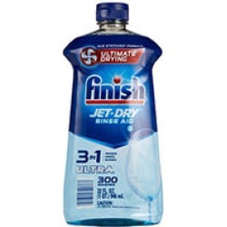 Finish Jet-Dry Ultra Rinse Aid Dishwasher Rinse Agent and Drying Agent (32 oz.) found on Bargain Bro from Sam's Club for USD $8.34