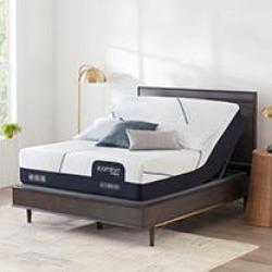 iComfort CF3000 Hybrid Medium Queen Mattress & Motion Perfect IV Adjustable Base Set