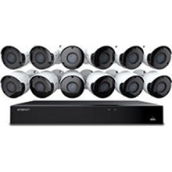 Wisenet-16 Channel 5MP DVR Surveillance System with 2TB Hard Drive, 12- Camera 5MP Indoor/Outdoor Cameras found on Bargain Bro India from Sam's Club for $599.00