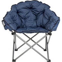 Cozy Club Chair - Blue
