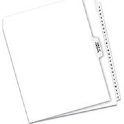 Avery Premium Collated Letter Exhibit Dividers A-Z