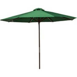 Classic Wood 9 ft Market Umbrella - Green found on Bargain Bro India from Sam's Club for $50.98