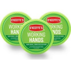 O'Keeffe's Working Hands 2.7oz Jar, 3 pk.