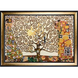 Gustav Klimt The Tree of Life Hand Painted Oil Reproduction found on Bargain Bro Philippines from Sam's Club for $439.00