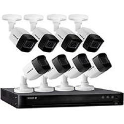 Defender Ultra HD 4K (8MP) 2TB Wired Security System with 8 Night Vision Cameras found on Bargain Bro India from Sam's Club for $699.00