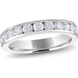 1.00 ct. t.w. PLAT Channel-Set Round Dia Band Sz 4.5 (H-I, I1) found on Bargain Bro Philippines from Sam's Club for $1899.00
