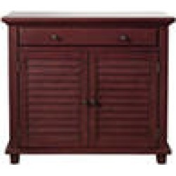 Society Den Marshall Accent Chest, Red