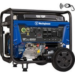 Westinghouse 9,500/12,500-Watt Gasoline Powered Portable Generator