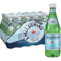 S.Pellegrino Sparkling Natural Mineral Water (0.5 L, 24 ct.) found on Bargain Bro India from Sam's Club for $17.98