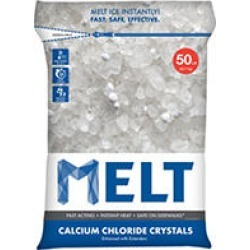 MELT 50 Lb. Resealable Bag Calcium Chloride Crystals Ice Melter - MELT50CC found on Bargain Bro Philippines from Sam's Club for $18.84