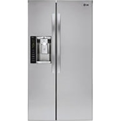 LG 22 Cu Ft Side-by-Side Counter Depth Refrigerator found on Bargain Bro Philippines from Sam's Club for $1399.00