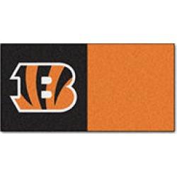 NFL - Cincinnati Bengals Team Carpet Tiles