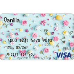 $50 Vanilla eGift Visa® Virtual Account - Flowers
