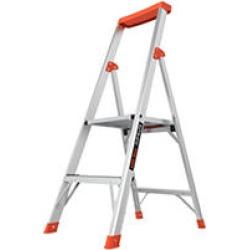 Little Giant Ladder Systems Flip-N-Lite M4 Aluminum Step Ladder