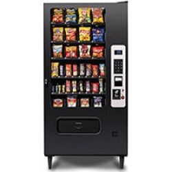 WS4000 32 Selection Snack Machine with Card Reader