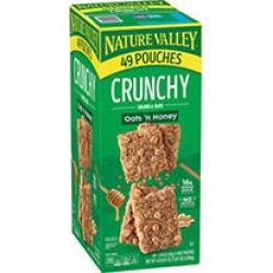 Nature Valley Oats 'n Honey Crunchy Granola Bars (0.75 oz, 49 pk.)