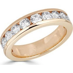 0.97 CT. T.W. Diamond 12-Stone Channel Set Band in 14K Yellow Gold 6.5 found on Bargain Bro India from Sam's Club for $899.00