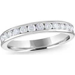 .50 ct. t.w. 14KW Channel-Set Round Dia Band Sz 9.5 (H-I, I1) found on Bargain Bro Philippines from Sam's Club for $599.00