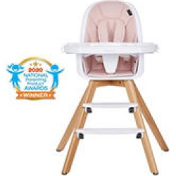 Evolur Zoodle High Chair, Pink