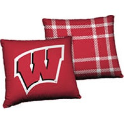 24 x 24 Licensed Wisconsin NCAA Team Cloud Pillow found on Bargain Bro Philippines from Sam's Club for $14.98