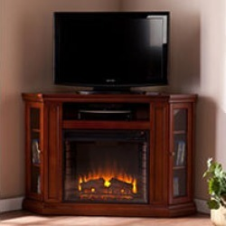 Windsor Electric Fireplace Media Console - Mahogany found on Bargain Bro India from Sam's Club for $499.00