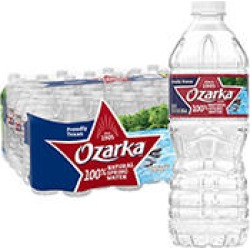 Ozarka 100% Natural Spring Water (16.9 fl. oz. bottles, 40 pk.) found on Bargain Bro India from Sam's Club for $5.48