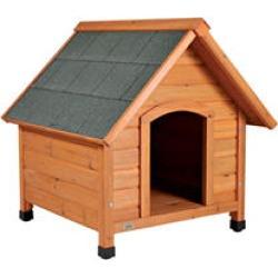 Natura® Pitched Roof Dog House - Medium
