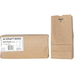 Duro Member's Mark Bag 4# Kraft Bags (500ct.) found on Bargain Bro India from Sam's Club for $8.98
