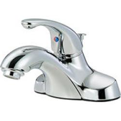 Hardware House Single Handle Bathroom Faucet w/ Chrome Finish