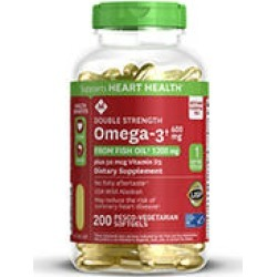 Double Strength Wild Alaskan Fresh Fish Oil