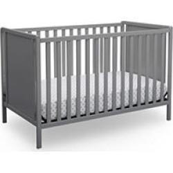 Delta Children Heartland Classic 4-in-1 Convertible Crib, Gray