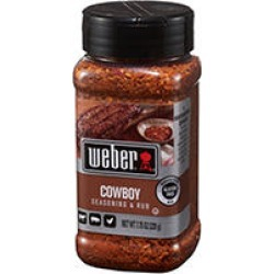 Weber Cowboy Seasoning & Rub (7.75 oz.) found on Bargain Bro India from Sam's Club for $3.98