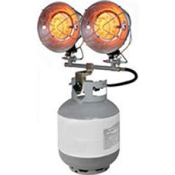 Dyna Glo DELUX Double Tank Top Propane (LP) 9k - 30k BTU Heater found on Bargain Bro India from Sam's Club for $64.88