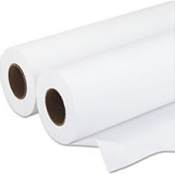 "PM Wide-Format Rolls, Inkjet Paper, 20 lbs, 3"" Core, 36""x500 ft, White, 2/Carton"