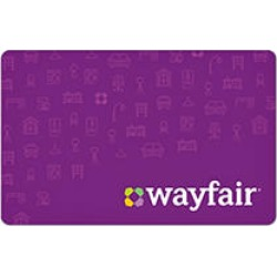 Wayfair $100 eGift Card (Email Delivery) found on Bargain Bro Philippines from Sam's Club for $96.88