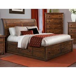 Danner King Storage Bed