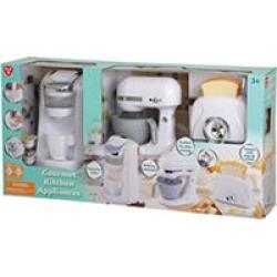 Gourmet Kitchen Appliances, White
