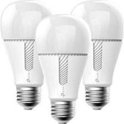 TP-LINK Kasa Smart Wi-Fi White LED Dimmable Light Bulb (3 pack)