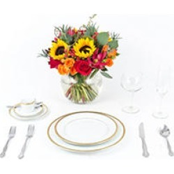Sunflower Wedding Collection - Fall - Centerpieces - 6 pc found on Bargain Bro India from Sam's Club for $359.00