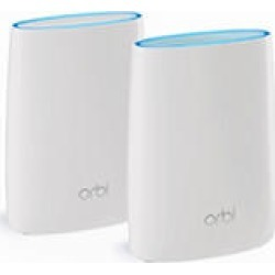 Netgear Orbi AC3000 Wireless Router with Satellite Range Extender - RBK50100NAS found on Bargain Bro India from Sam's Club for $329.00