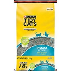 Tidy Cats Non-Clumping Cat Litter Instant Action for Multiple Cats, 40 lb found on Bargain Bro Philippines from Sam's Club for $11.28