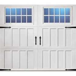 Classica 2000 Northampton Garage Door - White 9 x 8 Madeira