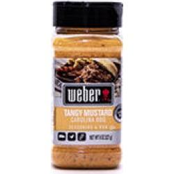 Weber Tangy Mustard Carolina BBQ Seasoning & Rub (8 oz.) found on Bargain Bro Philippines from Sam's Club for $3.98