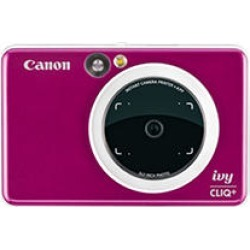 Canon IVY CLIQ+ Instant Camera Printer, Ruby Red