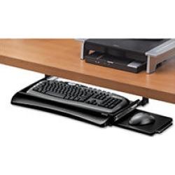 Fellowes Office Suites Underdesk Keyboard Drawer, Black