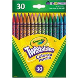 Crayola Twistables Colored Pencils, Assorted Colors, 30pk. found on Bargain Bro India from Sam's Club for $10.98