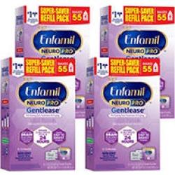 Enfamil NeuroPro Gentlease Infant Formula, Powder Refill (30.4 oz, 4 pk.)