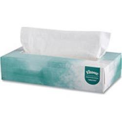 Kleenex Naturals Facial Tissue Flat Box, 2-Ply (125 sheets per box, 48 boxes)