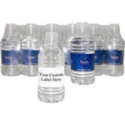 Custom Labeled Natural Spring Water Pallet - 12 oz. bottles - 1 pallet found on Bargain Bro Philippines from Sam's Club for $896.00